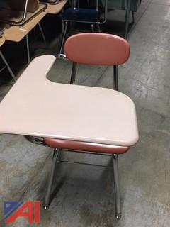 One Arm Table Student Desks