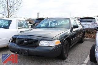 1999 Ford Crown Victoria 4 Door/Police Interceptor