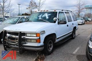1999 Chevrolet Tahoe SUV/Police Vehicle