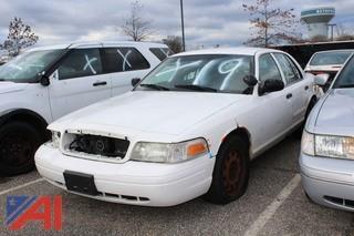 2010 Ford Crown Victoria 4 Door/Police Interceptor