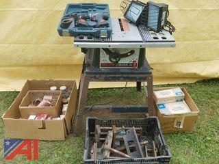 Miscellaneous Shop Tools and Supplies