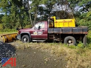 2005 Chevy Silverado 3500 Pickup with Plow