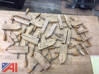 Various Wood Clamps