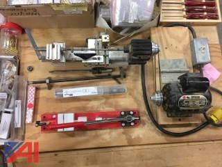 Pen Lathe and Various Items