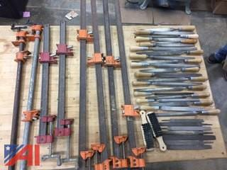 Various Files and Clamps