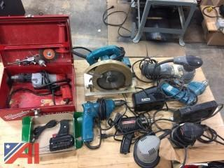 Various Drills, Sander and Grinder