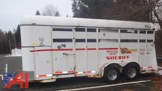 2006 Valley 4 Horse Trailer
