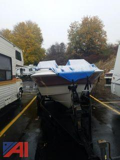 Larson Boat with Trailer