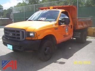 1999 Ford F350 SD Dump Truck