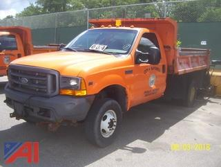 **Lot Updated** 2001 Ford F350 Dump Truck