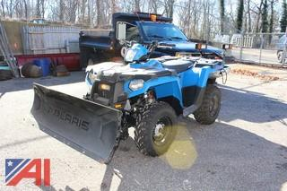 2016 Polaris Sportsman 450 EFI Quad with Plow