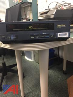 GoldStar VHS Auto Playback System