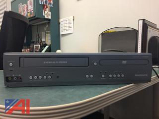 Magnavox Video Cassette Recorder/DVD Player