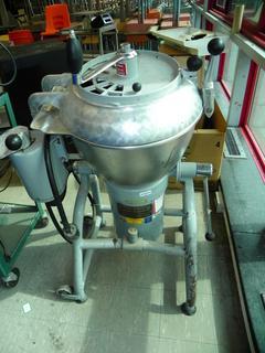 (#9) Hobart VCM-25 Commercial Vertical 25 Qt Cutter/Mixer