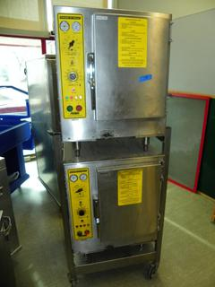 (#14) Accutemp Pan Convection Steamers on Stand