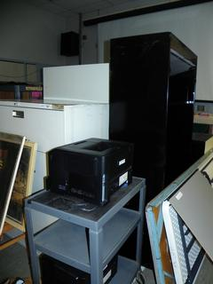 (#21) Filing Cabinets, Carts, Tables and More