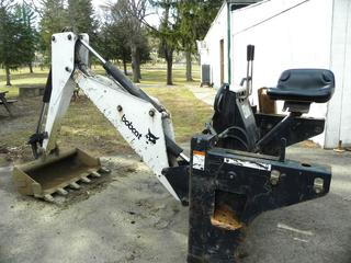 (#16) Bobcat Backhoe Attachment