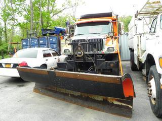 #46 2006 International 7400 Dump Truck with Plow