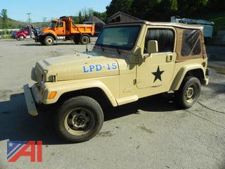 #15 1999 Jeep Wrangler SUV