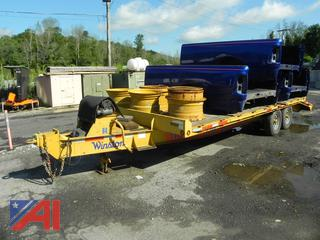 2013 Winston 20'  7 Ton Trailer with Ramps
