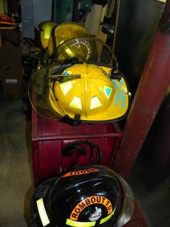 #14 Various Fire Fighting Helmets