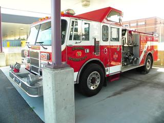 1992 Pierce Lance 6V-92TA Pumper Truck