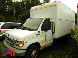 (X-30) 1999 Ford E350 Super Duty Van