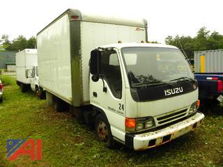 (X-24) 1995 Isuzu NPR Cargo Van