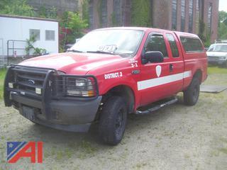 2004 Ford F250 Super Duty Pickup Truck