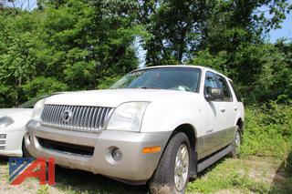 2002 Mercury Mountaineer SUV