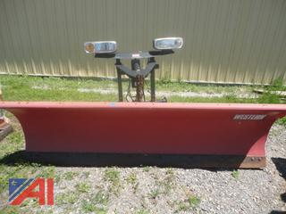 Western Steel Straight 8.5' Snow Plow