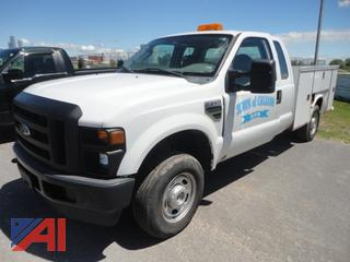 2010 Ford F250 XL Super Duty Utility Pickup Truck