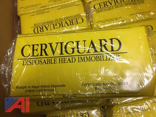 Cerviguard Disposable Head Immobilizers, New/Old Stock