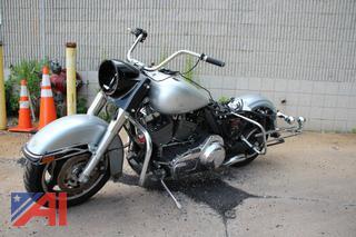 2012 Harley Davidson Road KIng Police Motorcycle