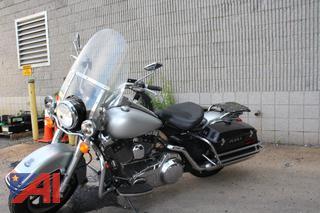 2008 Harley Davidson Road King Police Motorcycle