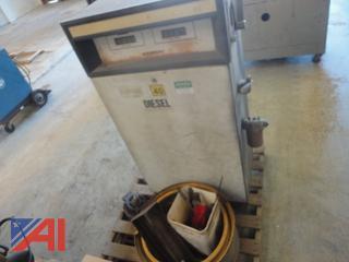 Gas Boy Diesel Fuel Metering Station, Hub Pilot Rim and Alternator