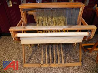 (#1) Wooden Weaving Loom