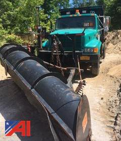 1996 International 4900 Dump Truck with Plow & Wing
