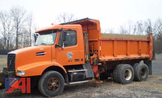 2003 Volvo VHD 6413 Dump Truck with Plow