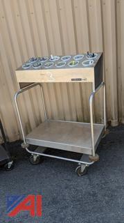 Lincoln Frick Silverware Cart