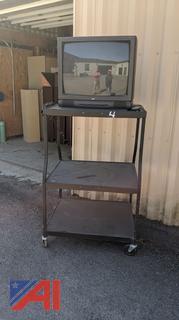 AV Cart & Television