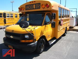 2015 Chevy Express G4500 School Bus with Wheelchair Lift