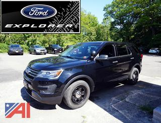 REDUCED BUYERS PREMIUM 2017 Ford Explorer Law Enforcement SUV