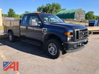 2009 Ford F350 Super Duty Extended Cab Utility Truck