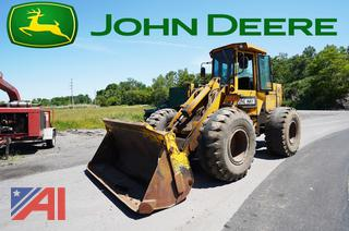1987 John Deere 544D Wheel Loader/539
