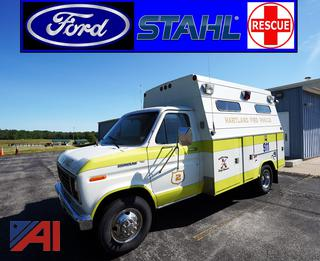 1984 Ford Econoline E350 Ambulance