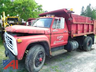 (#0079) 1979 Ford Dump Truck