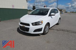 2015 Chevy Sonic LT 4 Door Hatchback