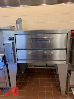 Bakers Pride GP-51 Counter Top Gas Deck Oven