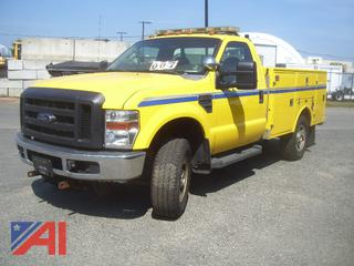 2008 Ford F350 XL Super Duty Utility Truck